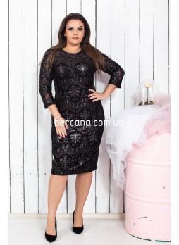 5504 Платье (батал)