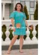5522 Платье (полубатал)