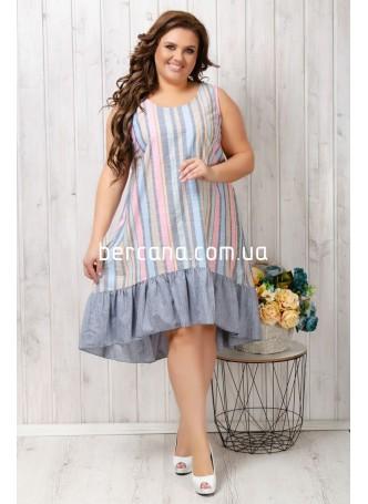 5585 Платье (полубатал)