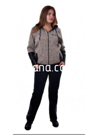 7008 Спортивный костюм теплый (батал)