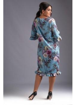8803 Платье (супербатал)